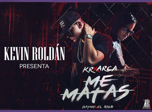 Kevin-Roldán-presenta-Me-matas-nuevo-sencillo-Mr-KR-colaboración-musical-Arcangel
