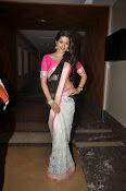 Shaddha das glamorous photos in saree-thumbnail-4