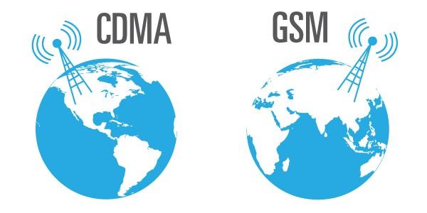 gsm y cdma: