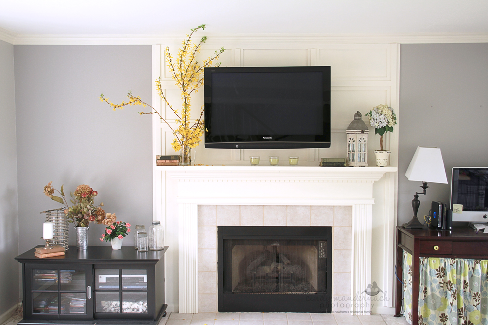 Fireplace Design fireplace caulk : Cameras and Chaos: the tv wall mount is done...