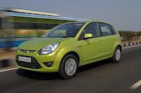 green Ford Figo