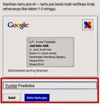 gambar Cara verifikasi bisnis di google