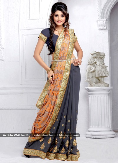 Indian Autumn-Winter New Saree Designs