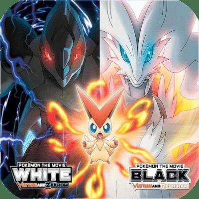 Pokémon Blando Victini y Zekrom