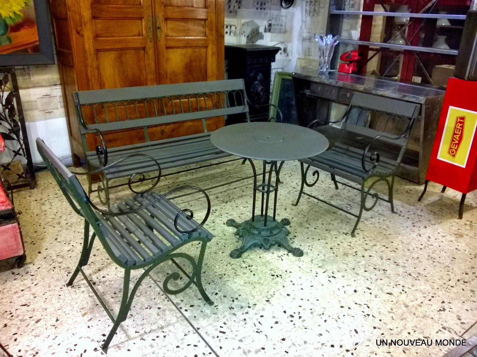 Mobilier Jardin Fer. Good Large Size Of Salon Jardin Fer Forge ...