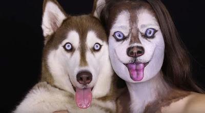 Machiaj: Cum să arăţi ca şi câinele tău | Video