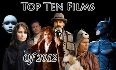 best movies 2012, best movies of the year, kenny d, top ten movies, best movie list