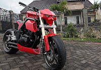 MODIFIKASI KAWASAKI BINTER MERZY-MODIFIKASI-street fighter