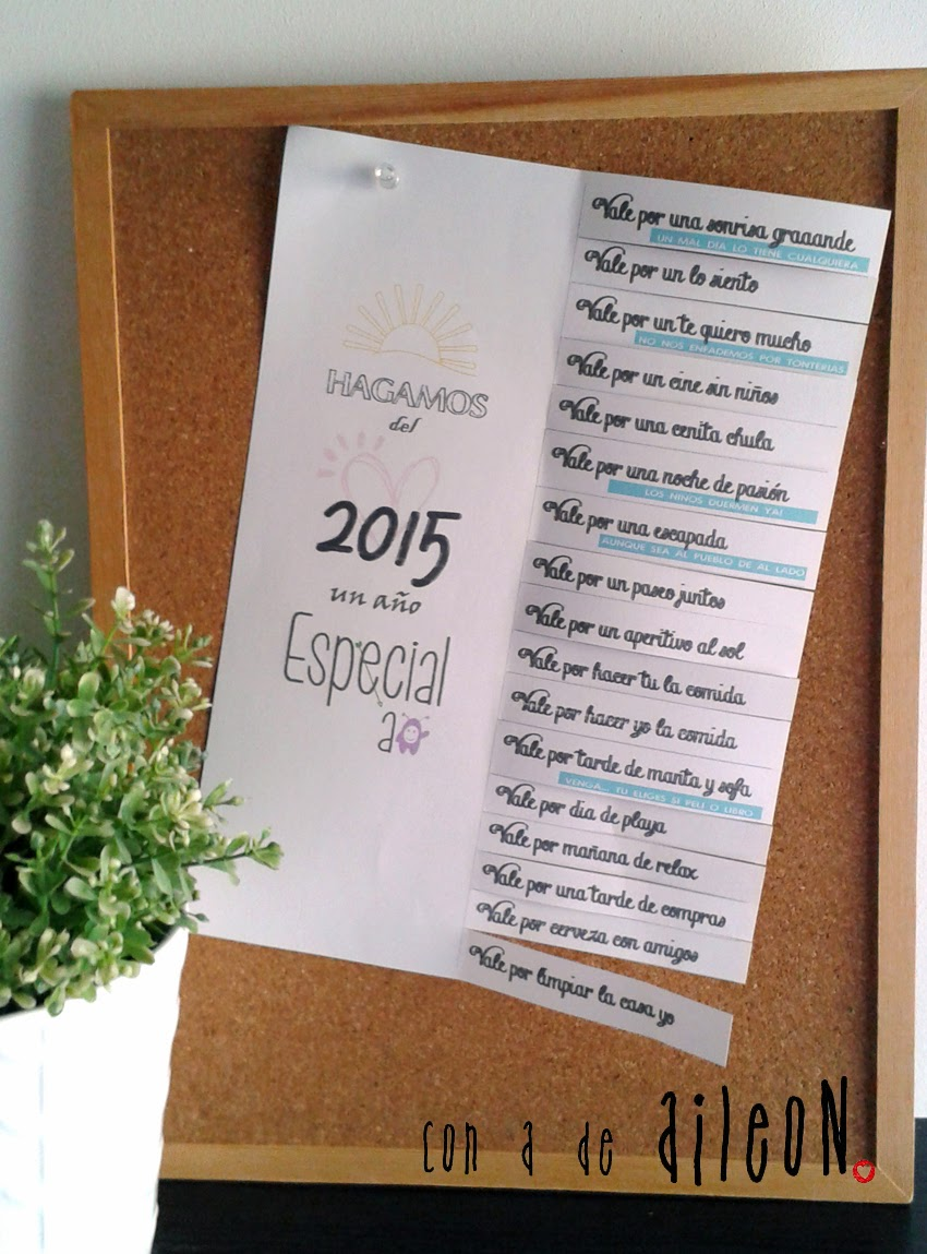 propositos 2015 vales regalo aileon