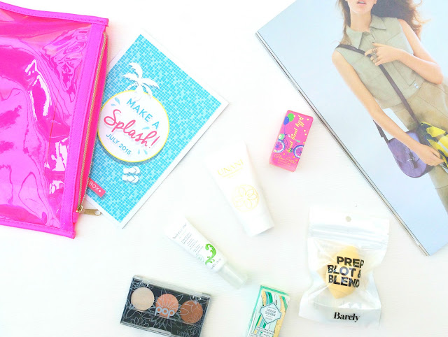 The Birchbox Travel Box July 2015