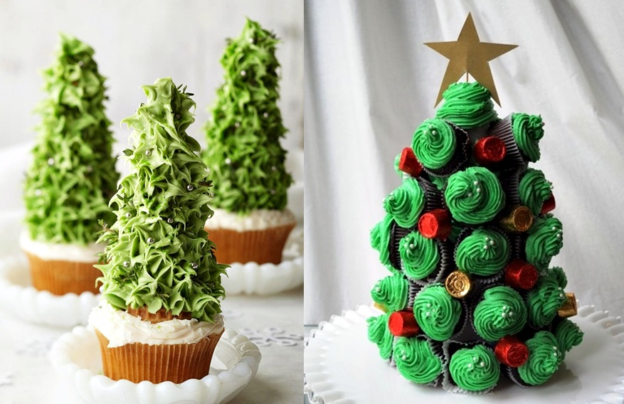 Christmas Tree Desserts Lovely Christmas treats for