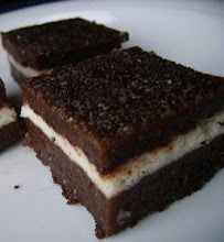 BROWNIES STEAMED LAYERED CHEESE (Brownies Kukus Lapis Cheese)
