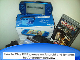 How to Play PSP games on Android and Iphones