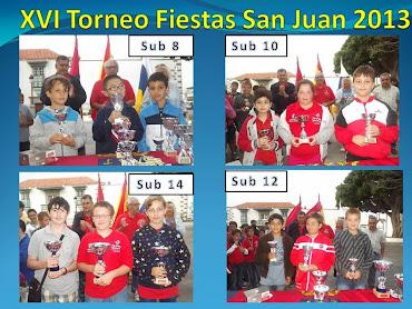 XVI Torneo Escolar Fiestas San Juan