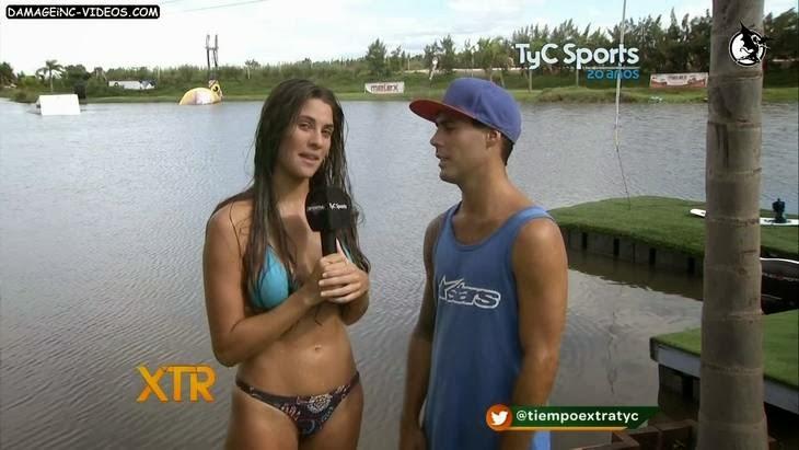 Argentina Model Ivana NAdal sexy bikini HD video damageinc