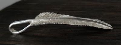 日本彫金師吉原直品牌legend 自信作- 羽毛的介紹