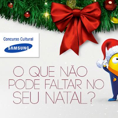 """Concurso Cultural """"O que não pode faltar no seu Natal"""""""