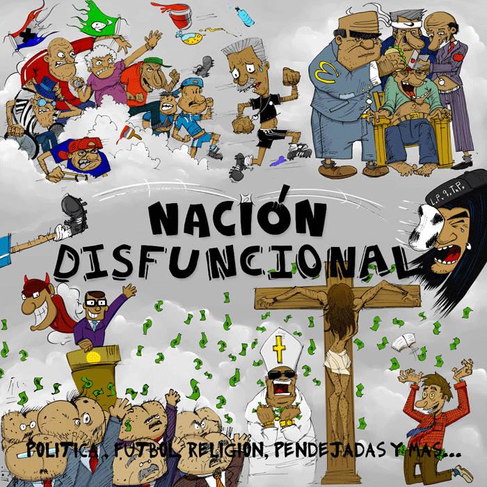 NACIÓN DISFUNCIONAL - DISCO