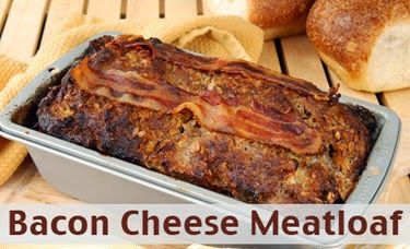 The Dogs Breaky: Bacon Cheese Meatloaf Recipe....