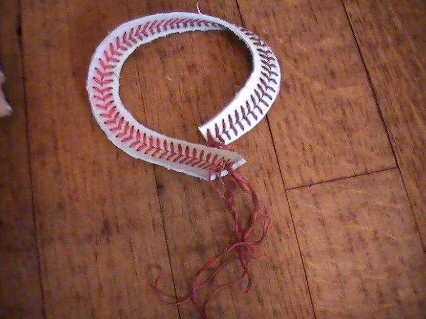 the that is you easy diy baseball bracelet