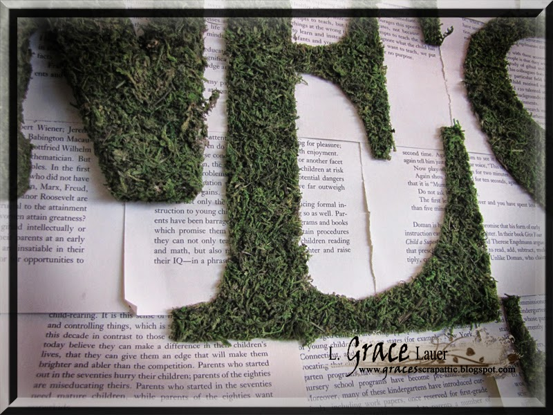 http://blog.uniquelygrace.com/2012/02/moss-and-book-page-hanging-wall-art.html