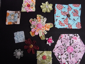 Angela thee fabric flowers and fabric origami fabric flowers and fabric origami mightylinksfo