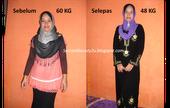 Testimoni sebenar turun 12kg