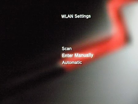 Konsola PS3 - wlan settings