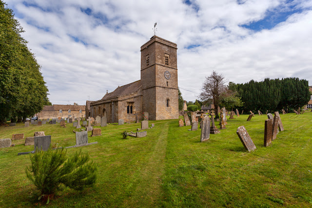 13th century Holy Trinity Church at Ascott under Wychwood  by Martyn Ferry Photography