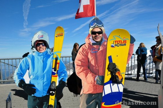 Melancong percuma ke Mount Titlis Switzerland 2010