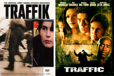 Michael Douglas, Catherine Zeta-Jones y Benicio de Toro, en 'Traffic'