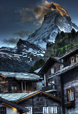 Matternhorn from Zermatt, Switzerland