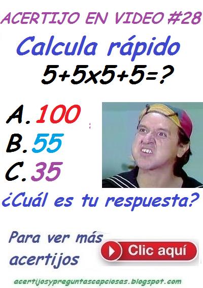 Acertijos matemáticos y preguntas capciosas: Ayúdale a