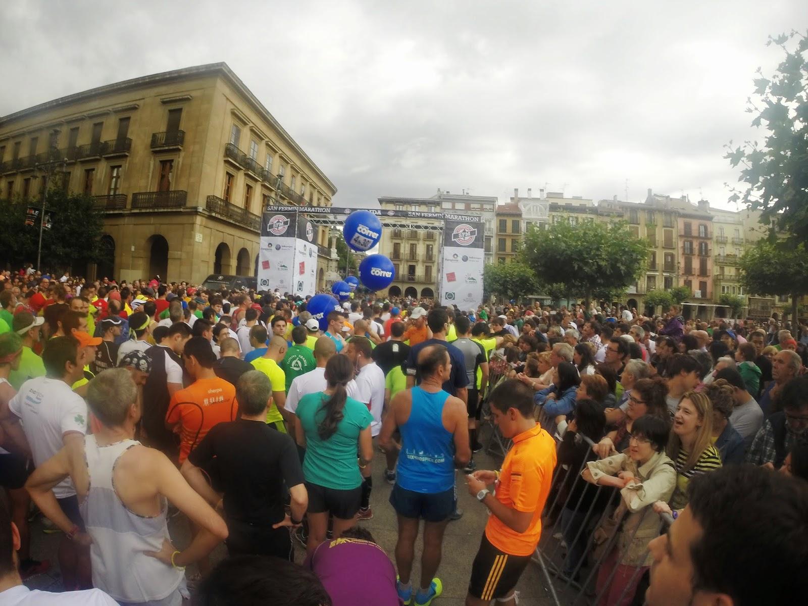 gopro san fermin maraton pamplona 2014