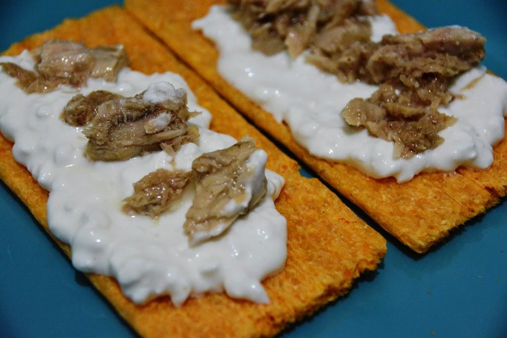 פתית ללא גלוטן עם קוטג gluten free cracker