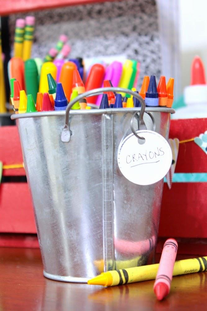 Homework station ideas | Cupcake Wishes & Birthay Dreams www.cwbdparties.com