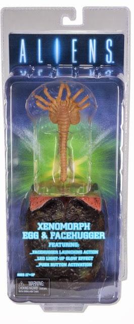 NECA Xenomorph Egg & Facehugger