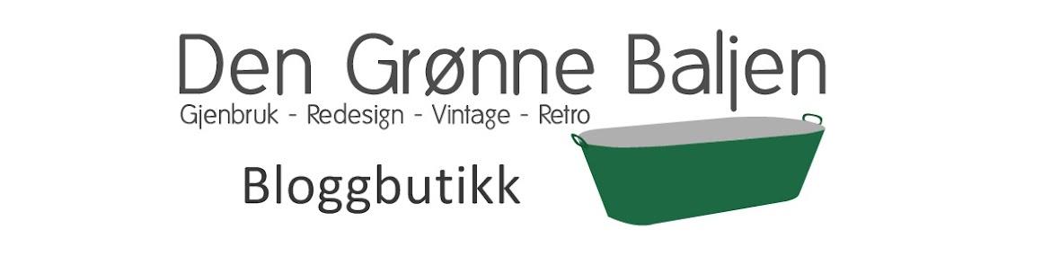 Den Grønne Balje's Bloggbutikk
