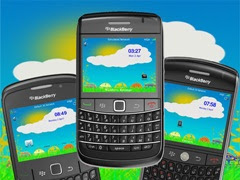 Happy Easter theme for BlackBerry