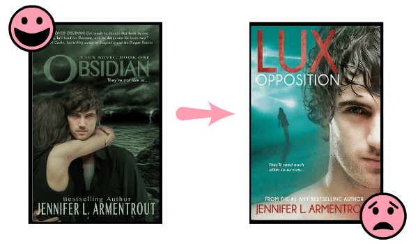 The Lux series by Jennifer L. Armentrout