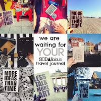 ▲ SODAlicious travel journal
