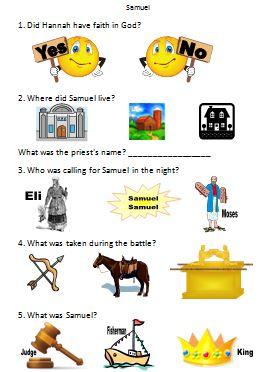 Bible Fun For Kids Old Testament Bible People Worksheets