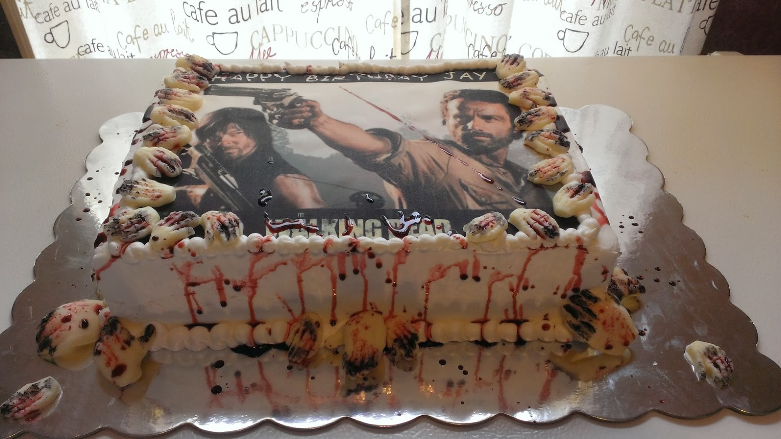 Happy Cakes The Walking Dead Cake