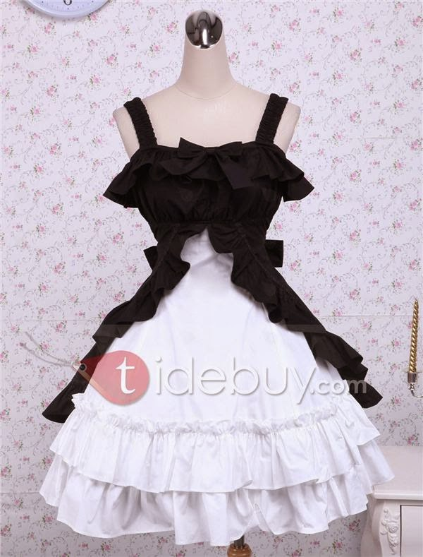http://www.tidebuy.com/product/Cotton-Black-And-White-Classic-Lolita-Dress-10417968.html