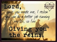 You have the reins