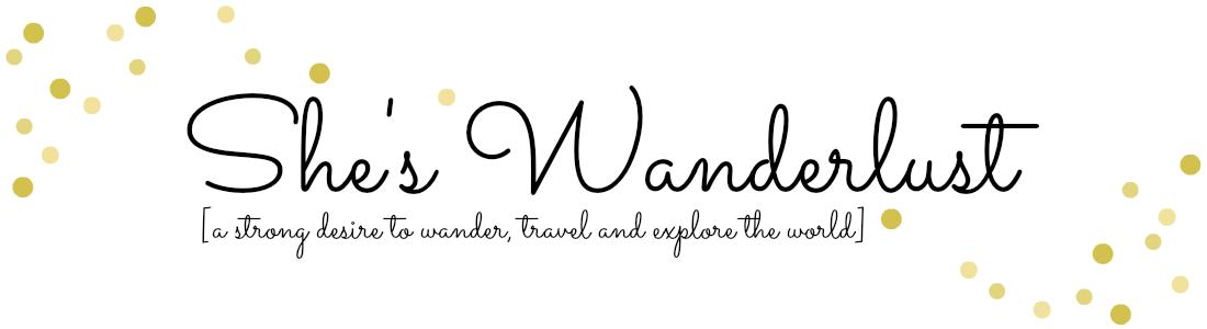 She's Wanderlust