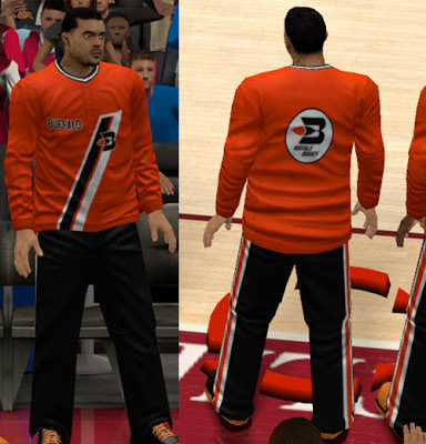 NBA 2K13 Buffalo Braves Warm-up Jerseys Patch