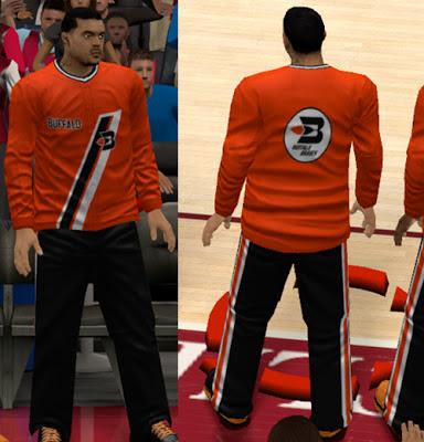 NBA 2K13 Buffalo Braves Warm-up Jerseys Patch