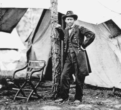 General Ulysses S. Grant by Mathew Brady
