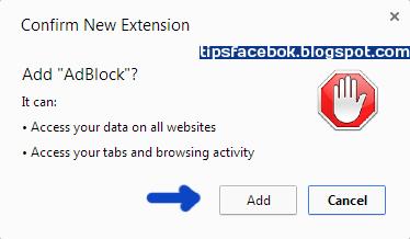 Cara blok Iklan di Facebook